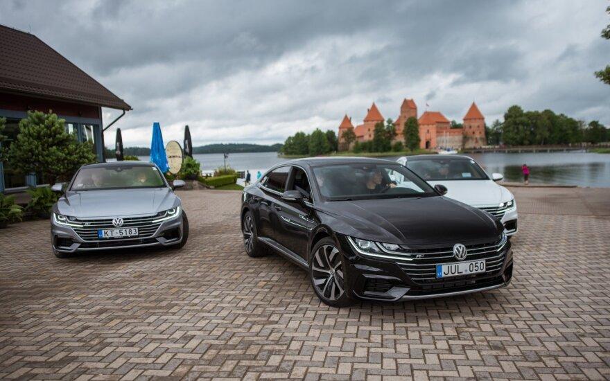 """Lietuvoje pristatytas naujasis """"Volkswagen Arteon"""""""