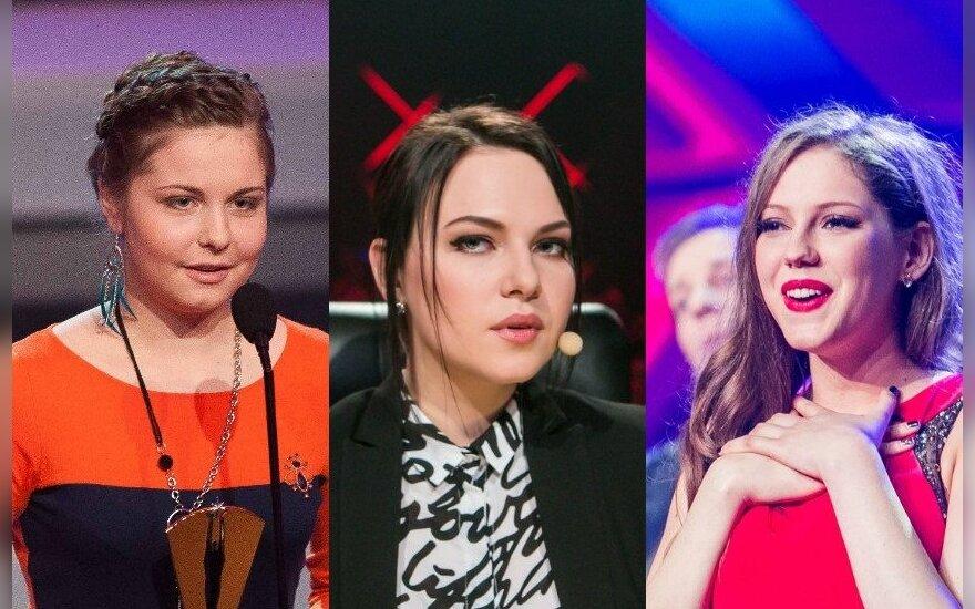 I. Krivickaitė, J. Arlauskaitė-Jazzu, M. Pundziūtė