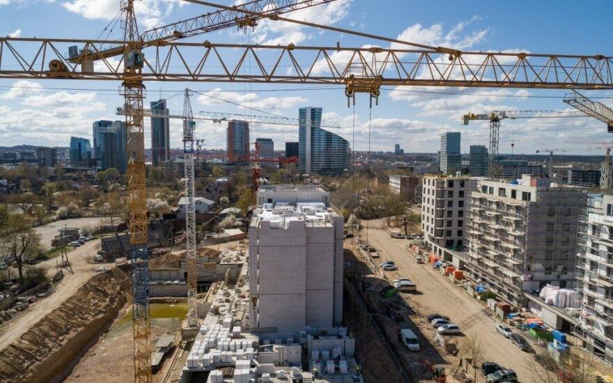 Statybos Vilniuje
