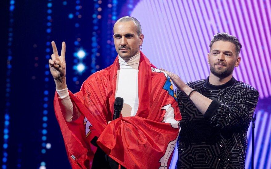 Vaidotas Valiukevičius-The Roop ir Jurijus Veklenko/ Foto: D. Umbrasas