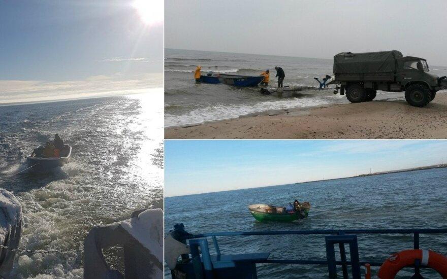 Verslinė žvejyba Baltijos jūroje