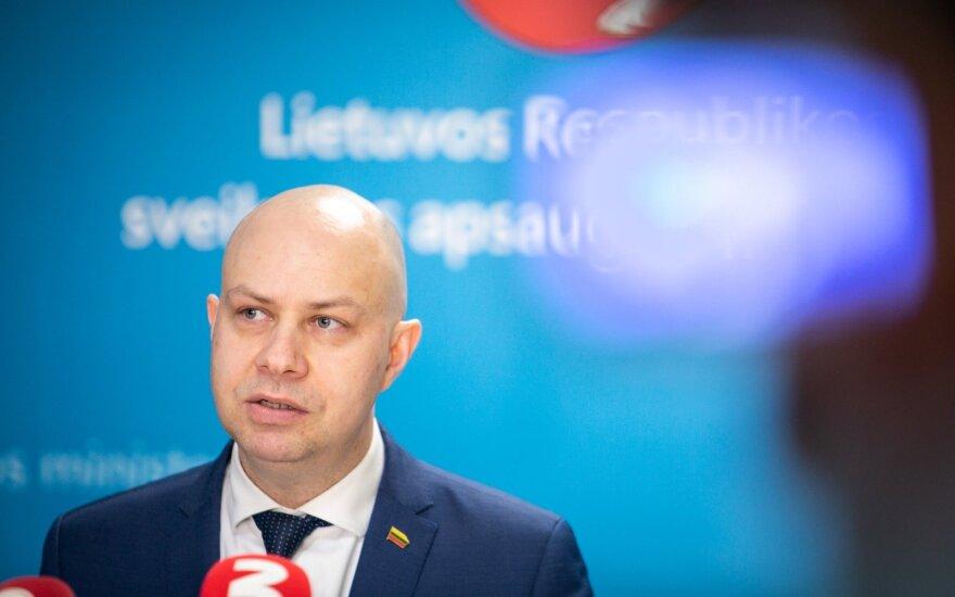Veryga: prognozuojamas koronaviruso plitimas Europoje, deramasi dėl apsaugos priemonių