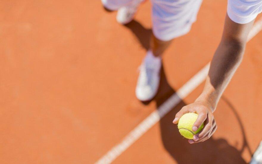 Belgijos policija kirto teniso sukčių lizdui