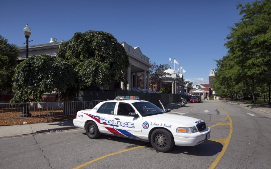 Toronte įvyko susišaudymas