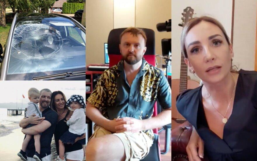Katažina ir Deivydas Zvonkai, Stanislavas Stavickis-Stano ir Gerda Žemaitė/ Foto: asmeninio archyvo ir stop kadrai