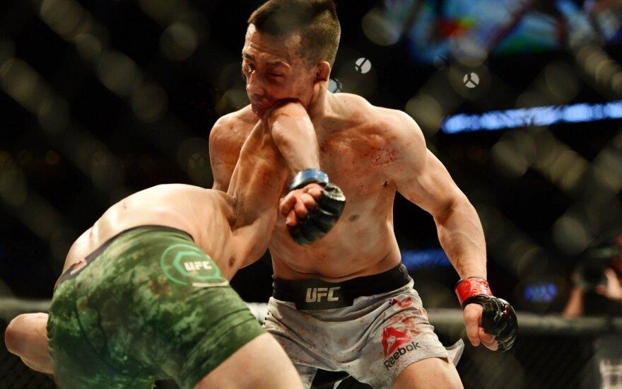 UFC dvikova: Yairas Rodriguezas ir Chanas Sungas Jungas