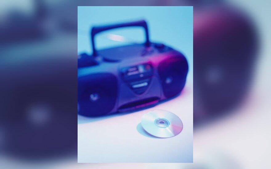 Muzika, magnetola, kompaktinė plokštelė