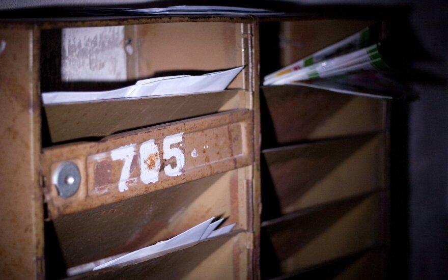 Pašto dėžutėje rastas raudonas vokas pamokė, kaip ginti savo teises