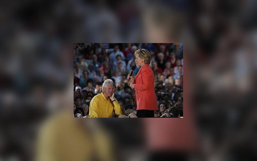 Billas Clintonas ir  Hillary Rodham Clinton