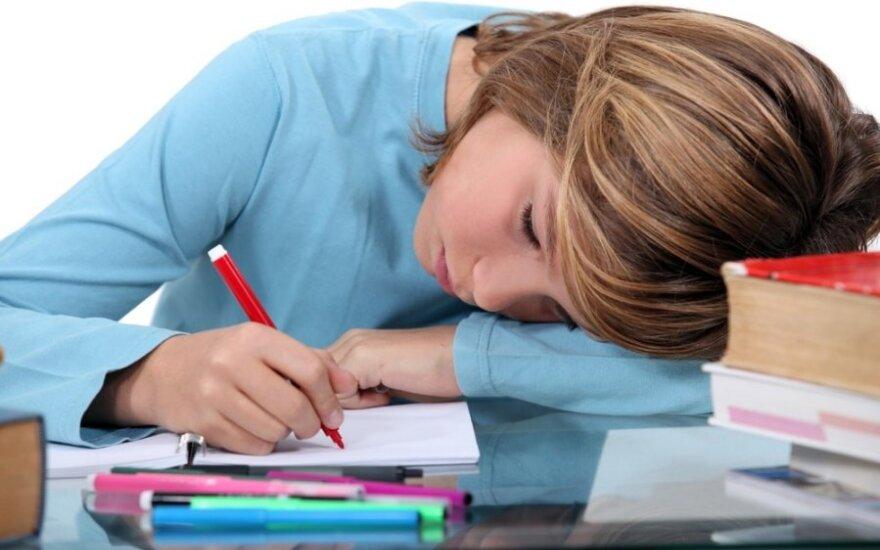 Gausybė būrelių vaikams grasina nerviniu išsekimu