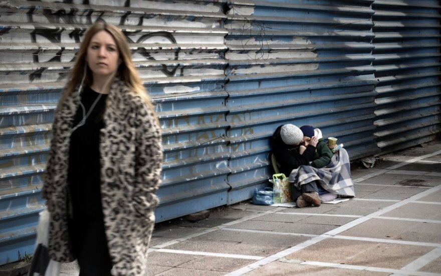 Nedarbas Graikijoje - rekordinis