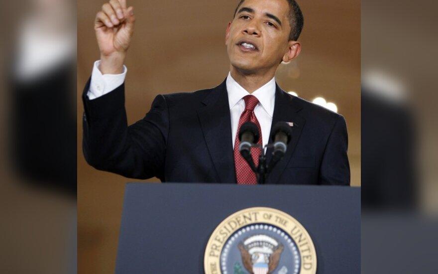 Obama atvėrė kelią kontraversiškus tardymo metodus sankcionavusių pareigūnų bylų tyrimui