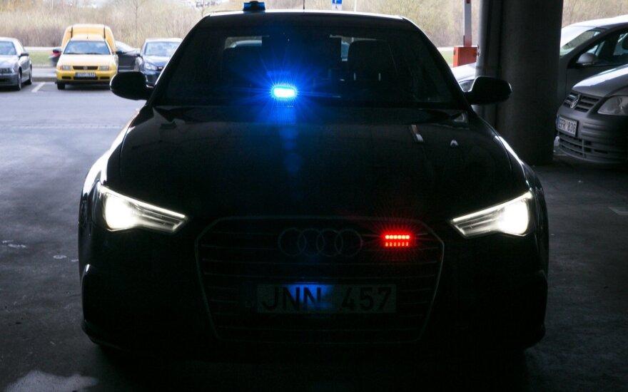 """Nežymėta policijos """"Audi"""" (asociatyvi nuotr.)"""