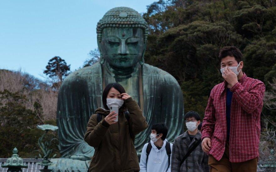Japonija karantinuos žmones, atvykstančius iš Kinijos ir Pietų Korėjos