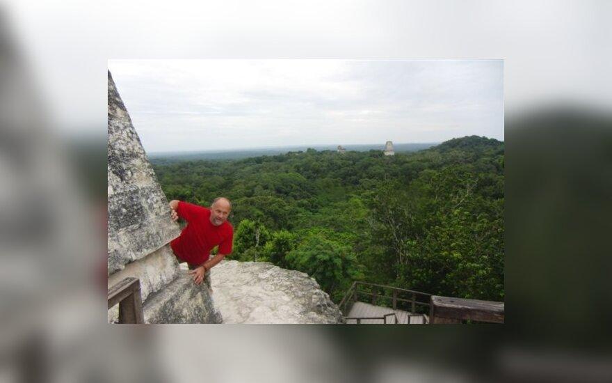 Algimantas Lukoševičius Gvatemaloje