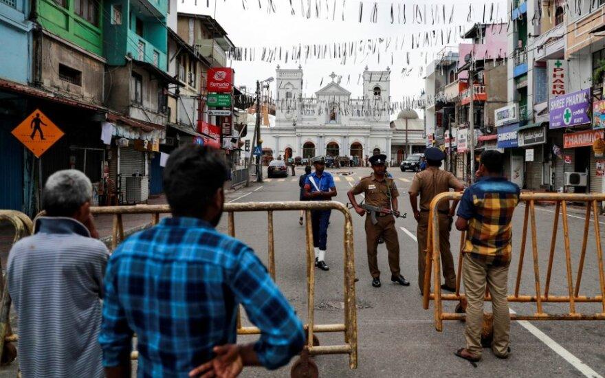 Šri Lankoje per Velykų dienos atakas žuvo 42 užsieniečiai