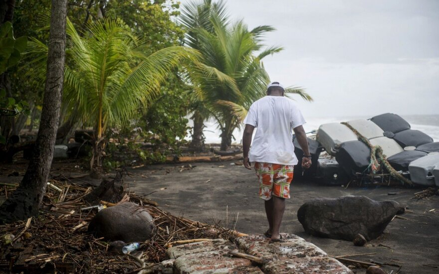 """Nuslėpti skaičiai: Puerto Rike siautėjęs uraganas """"Maria"""" nusinešė virš 4000 gyvybių"""