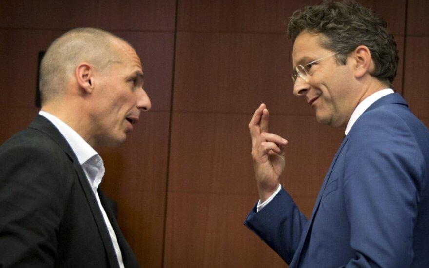 Yanis Varoufakis, Jeroenas Dijsselbloemas