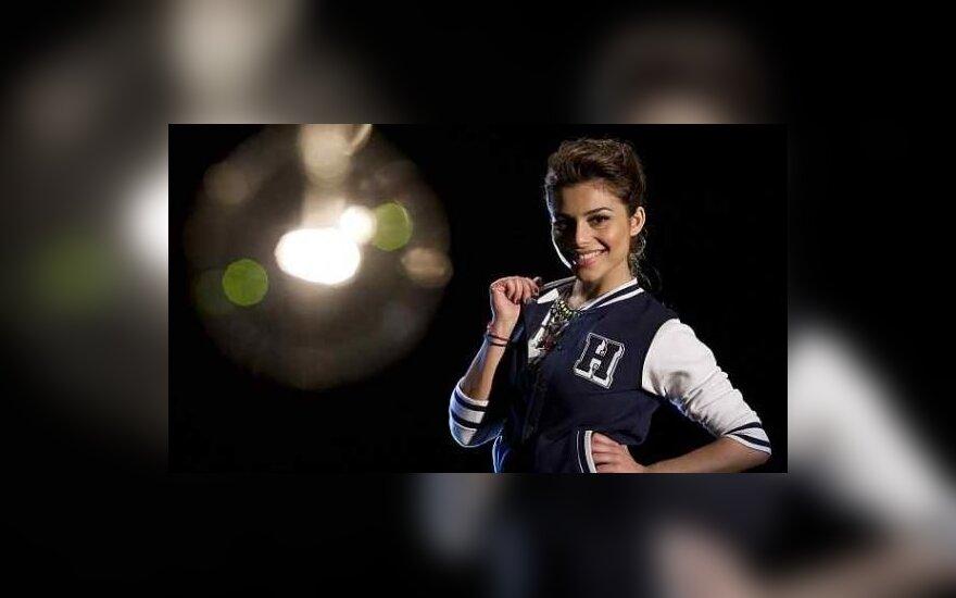 """Graikijos atstovė """"Eurovizijoje"""" Eleftheria Eleftheriou"""
