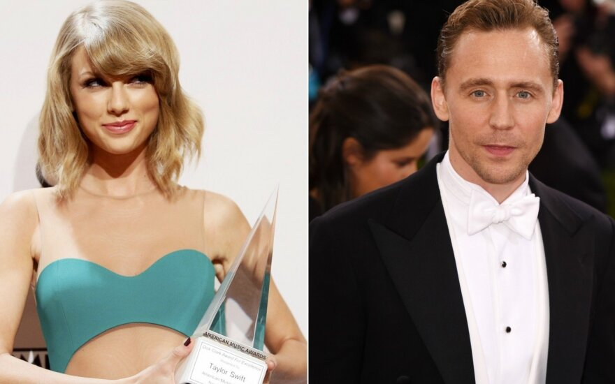 Taylor Swift ir Tomas Hiddleston