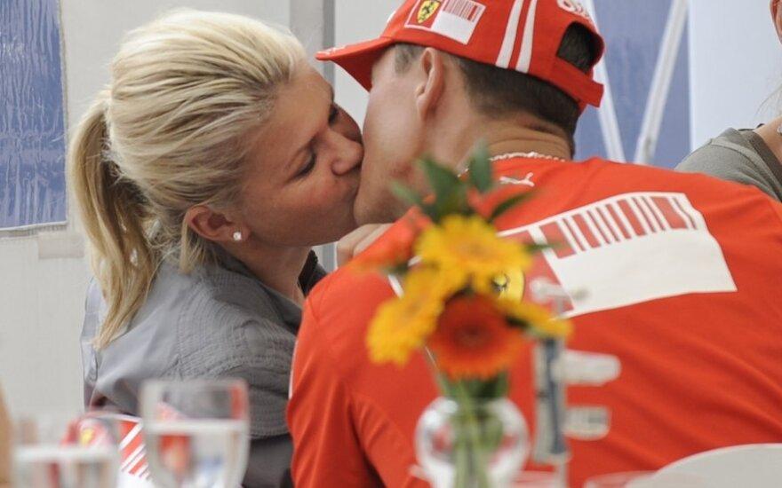 Corinna ir Michaelis Schumacheriai