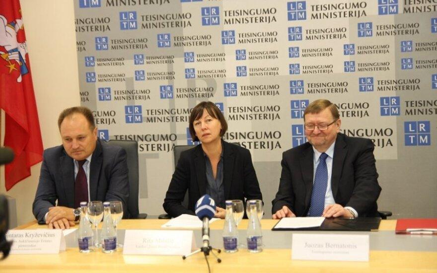Gintaras Kryževičius, Rita Miliūtė, Juozas Bernatonis