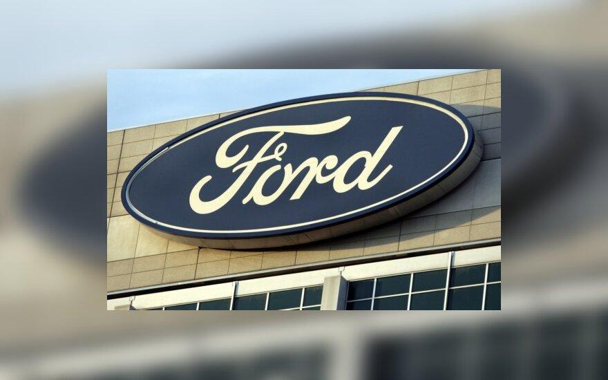 """""""Ford"""" išbandys elektromobilius Vokietijoje"""