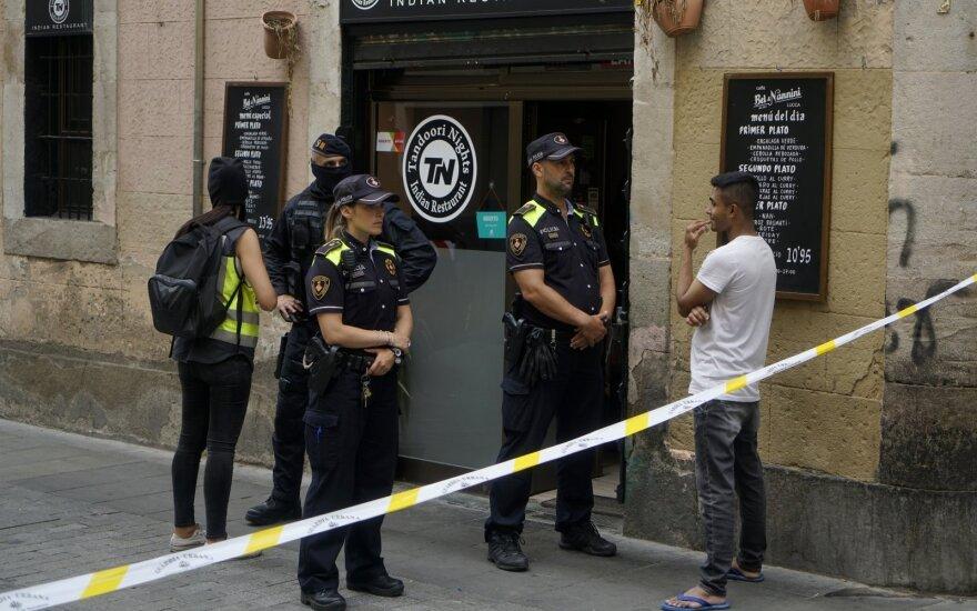 Barselonoje po 500 tūkst. separatistų mitingo intensyvėjo smurtas