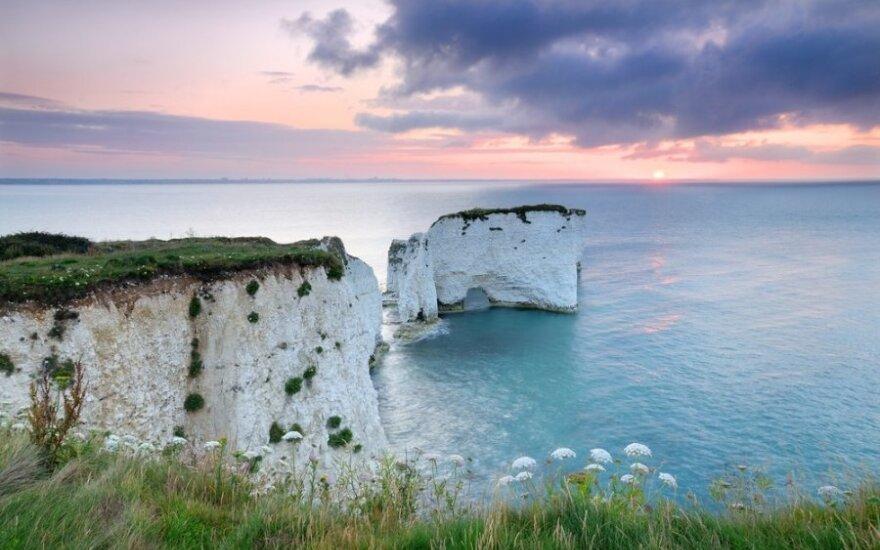 5 gražiausi Anglijos paplūdimiai