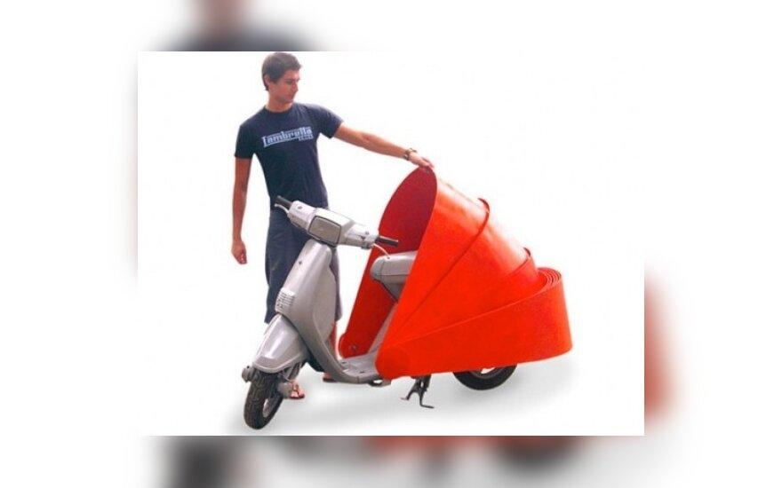 Motorolerių apsauga Protect 486 scooter armour
