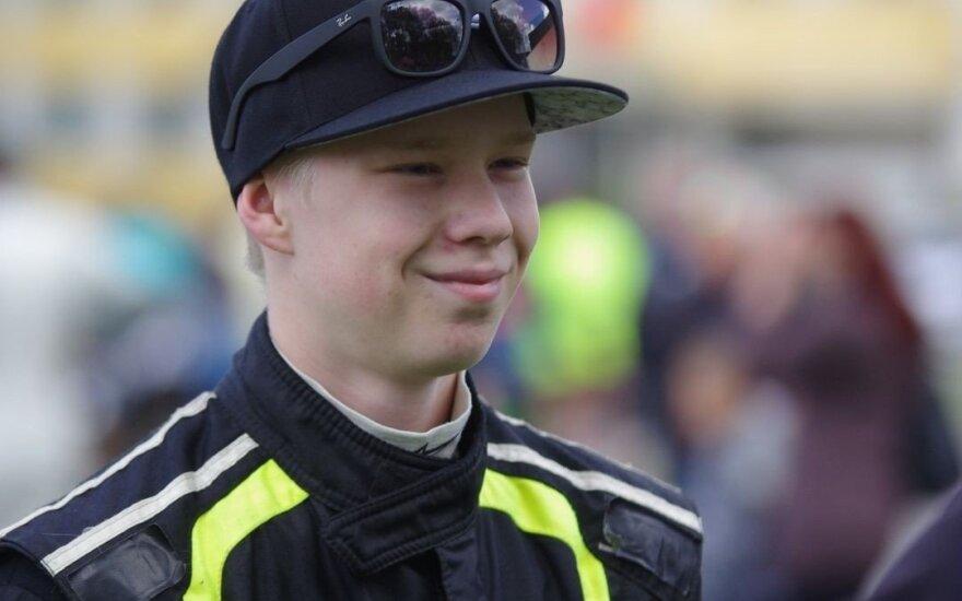 Ekskursija į Suomijos ralio mokyklą