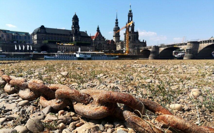 Perspėjimas europiečiams: termometrų stulpeliai pasieks neregėtas aukštumas