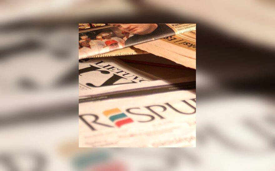 Spauda, laikraštis, žiniasklaida