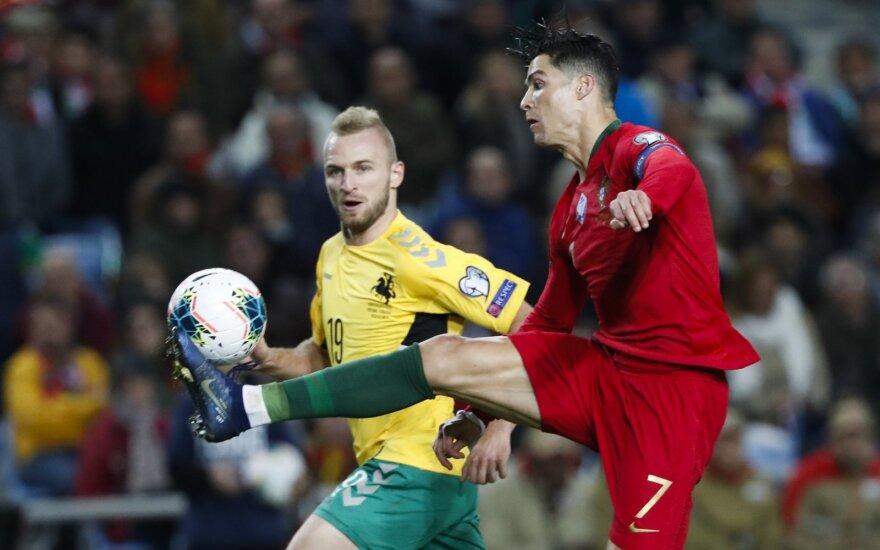 Vytautas Andriuškevičius, Cristiano Ronaldo