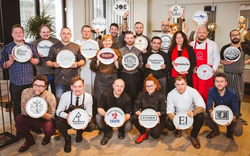 """Restoranų šefai ruošiasi """"Vilnius Gastro 2017"""" dalyvių egzaminui"""