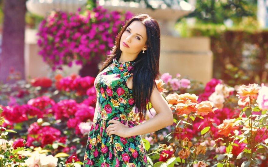 O kas bus vasarą? Gėlių festivaliai ir gėlėtos suknelės?