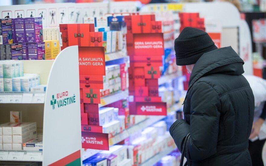 """Estijoje apsipirkusi """"Euroapotheca"""" planuoja toliau plėstis"""