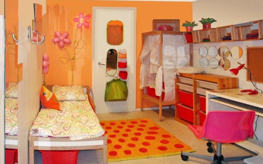 5 didžiausios klaidos įrengiant ir dekoruojant vaikų kambarį