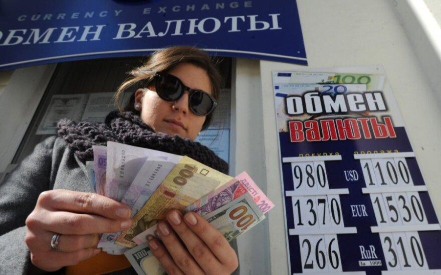 Ukrainos bankai skaičiuoja milžiniškus nuostolius