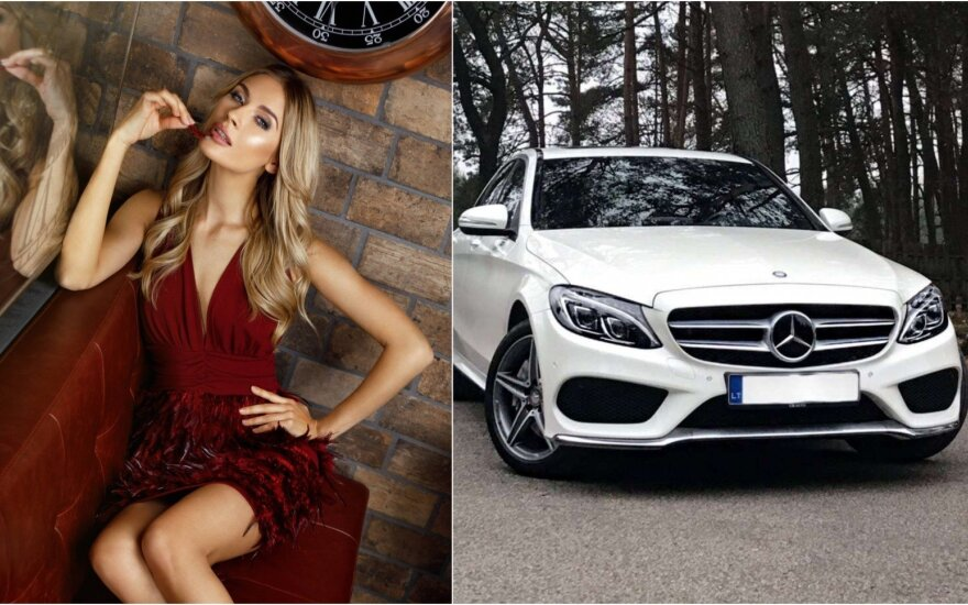 Simona Starkutė parduoda Mercedes-Benz C250 / Foto: G. Žilinskas, autoplius.lt