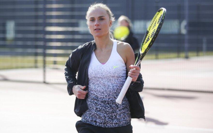L. Stančiūtė ir A. Paražinskaitė palypėjo WTA reitinge