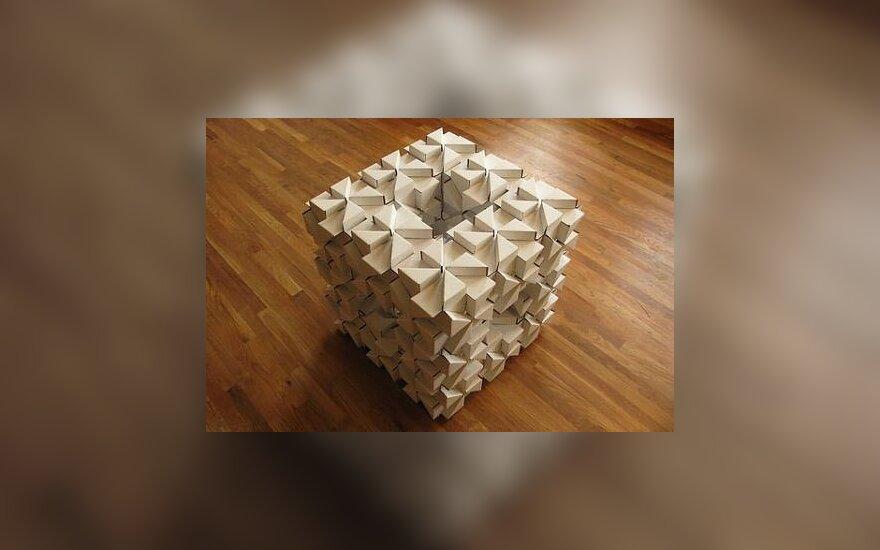 Perdirbimo idėjos: daiktai iš kartoninių blokelių
