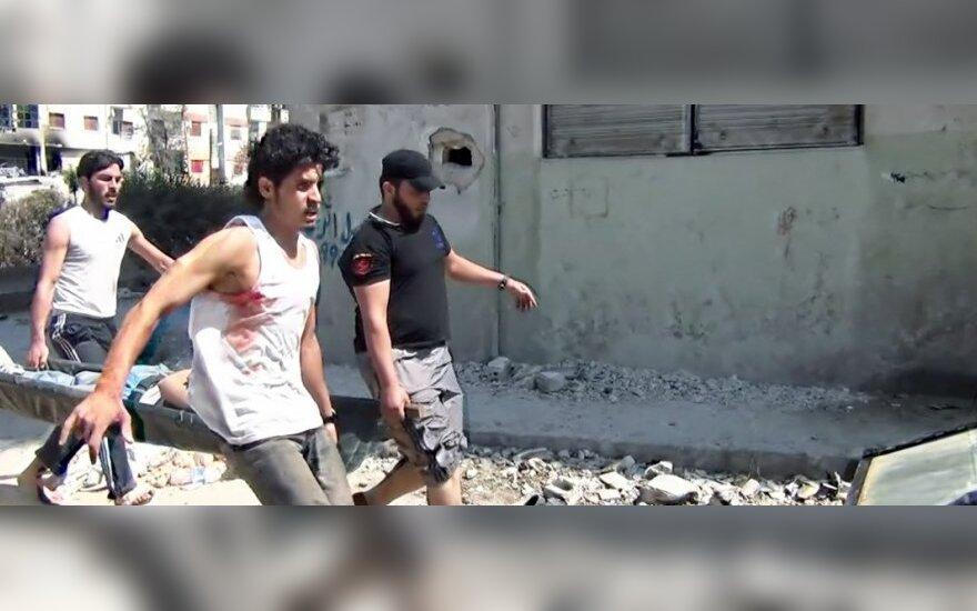 """""""Sugrįžimas i Homsą"""""""