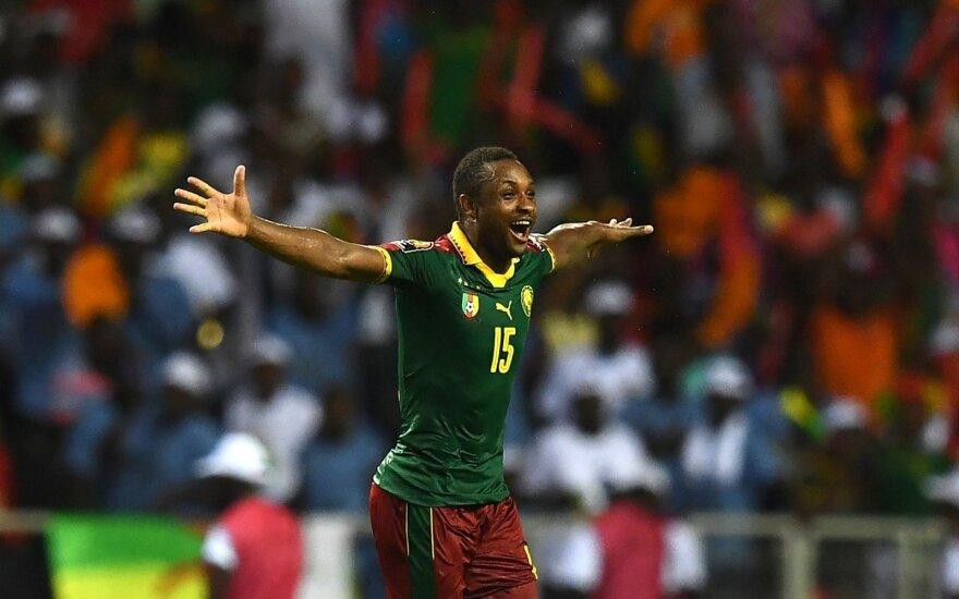 Afrikos čempionato finalas, Kamerūno - Egipto mačo akimirka