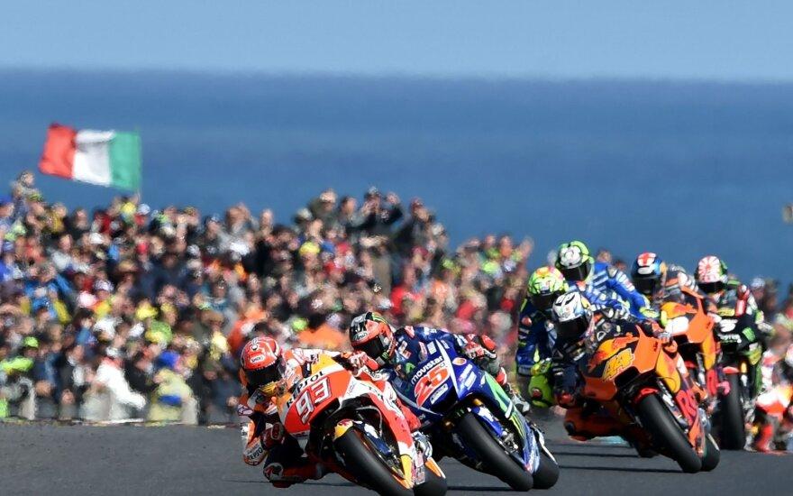 """Įtemptas """"MotoGP"""" etapas Australijoje"""