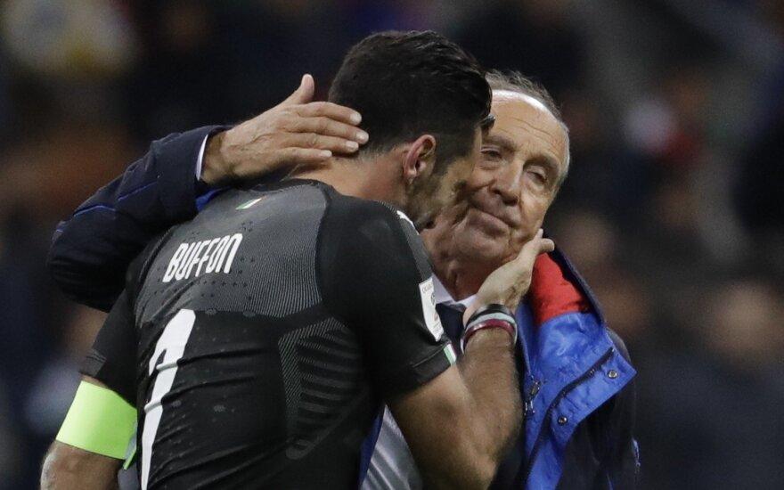 Gianluigi Buffonas ir Giampiero Ventura