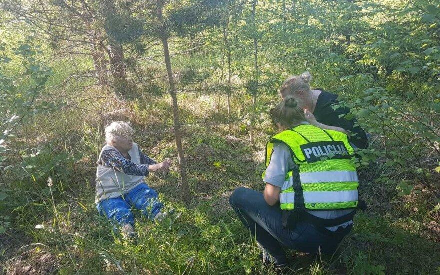 Kelmės rajone rasta dingusi močiutė