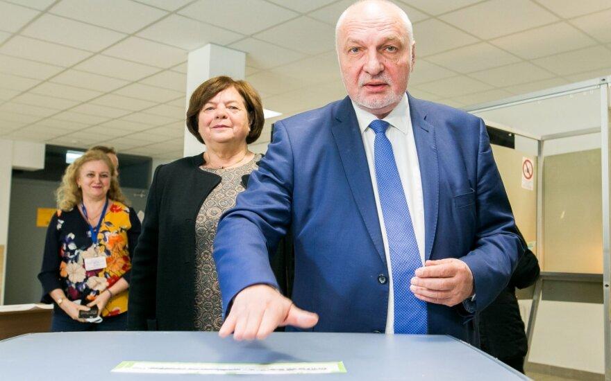 Mazuronis: balsavau už tą kandidatą, kuris turi daugiau šansų išlikti nepriklausomu
