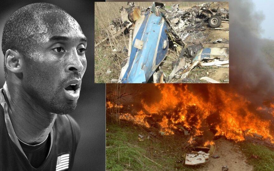 Kobe Bryantas ir jo žūties vieta