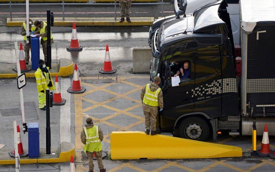 Sunkvežimių vairuotojai JK